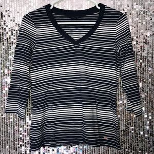 Tommy Hilfiger Tops - Tommy Hilfiger long sleeve stripped shirt